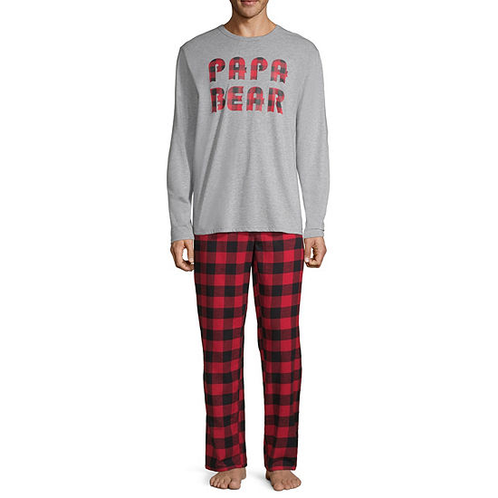 a5d916fb North Pole Trading Company Plaid Papa Bear 2 Piece Set -Men's - JCPenney