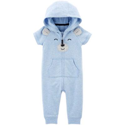 Carter's Short Sleeve Jumpsuit - Baby Boys