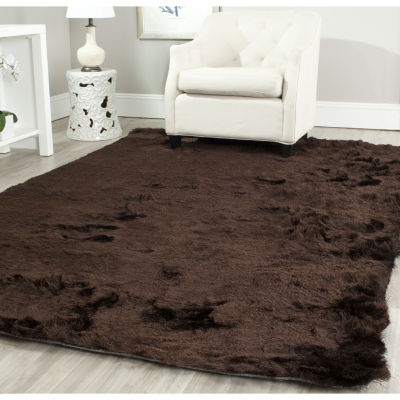 Safavieh Shag Collection Camille Solid Square Area Rug