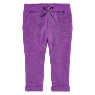 Okie Dokie Printed Pull-On Jogger Pants - Baby Girl NB-24M