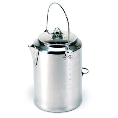 Stansport 20-Cup Aluminum Percolator Camping Coffee Pot