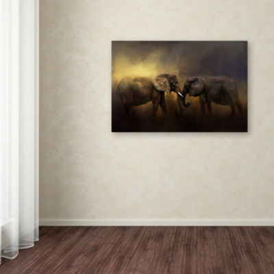Trademark Fine Art Jai Johnson Together Through The Storms Giclee Canvas Art