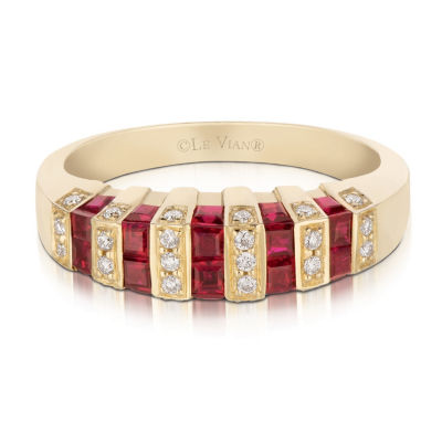 Grand Sample Sale™ by Le Vian® Red Carpet® Fiery Reds™ Passion Ruby™ Ring in 14k Honey Gold™