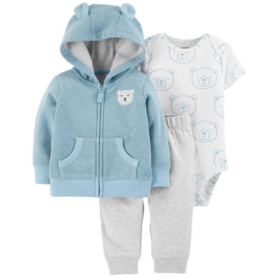 Carter's 3-pc. Bodysuit Set-Baby Boys