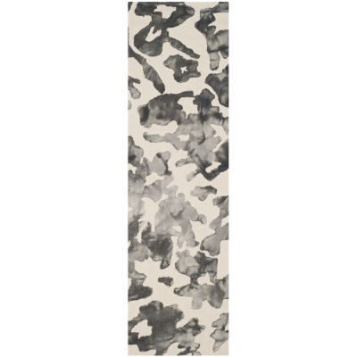 Safavieh Dip Dye Collection Emma Abstract Runner Rug