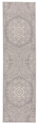 World Rug Gallery Transitional Medallion Design Floral Runner Rug
