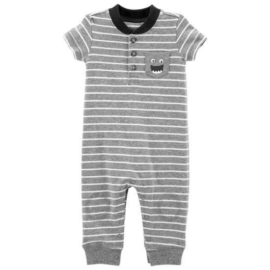 Carter's Short Sleeve Jumpsuit - Baby Boy