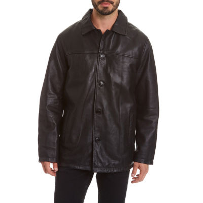 Excelled Leather Leather Midweight Parka-Big and Tall