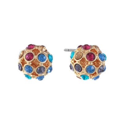 Monet Jewelry 11.5mm Stud Earrings