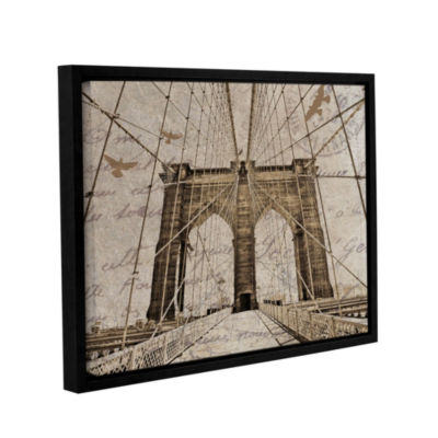New York 2012 Floater-Framed Gallery Wrapped Canvas