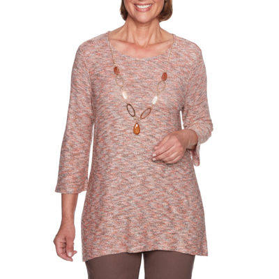 Alfred Dunner Sunset Canyon Tunic Top