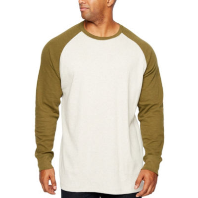 The Foundry Big & Tall Supply Co. Mens Crew Neck Long Sleeve Thermal Top Big and Tall