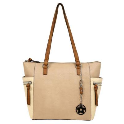 St. John's Bay Pocket Charm Tote Bag