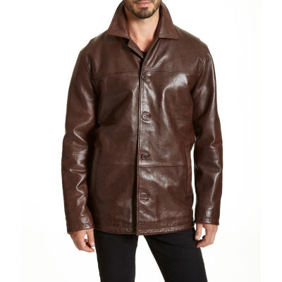 Excelled Leather Midweight Parka-Big and Tall