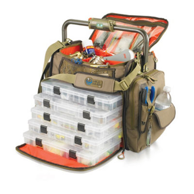 Wild River Tackle Tek Frontier Lighted Tackle Bag5 Trays