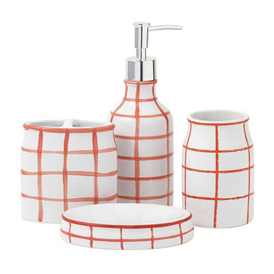 Landon 4 Pc Bath Accessory Set