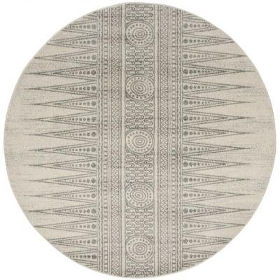 Safavieh Gemma Abstract Round Rugs