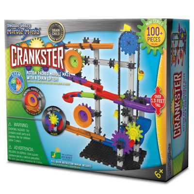 The Learning Journey Techno Gears Marble Mania - Crankster (100+ pcs)