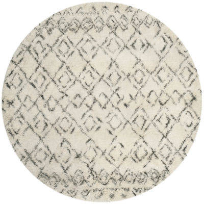 Safavieh Casablanca Collection Jordan Geometric Round Area Rug