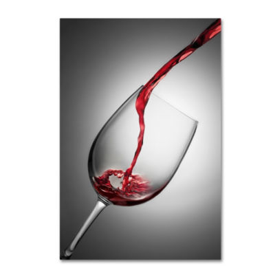 Trademark Fine Art Wine Glass Canvas