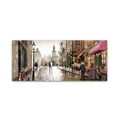 Trademark Fine Art The Macneil Studio Café MilanoGiclee Canvas Art