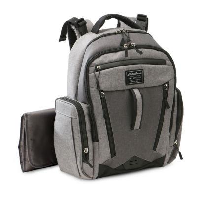 Eddie Bauer Backpack Diaper Bag with Wipe Case