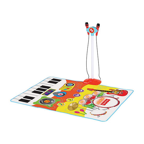Fisher Price Double Dance And Sing Along Music Mat With Lights