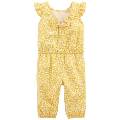 Carter's Sleeveless Jumpsuit - Baby Girls