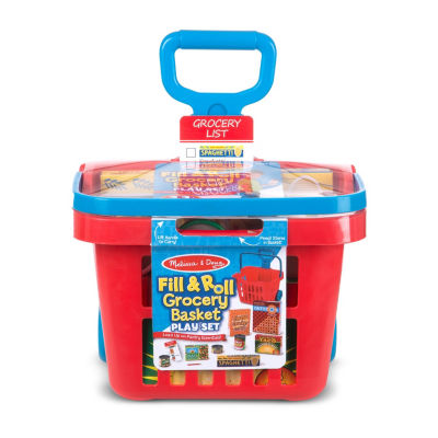 Melissa & Doug Fill and Roll Grocery Basket