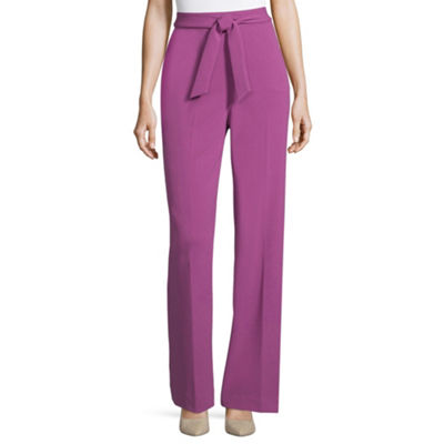 Worthington Tie-Front Wide-Leg Pants
