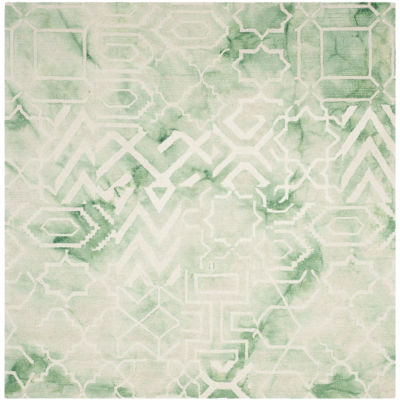 Safavieh Dip Dye Collection Venice Chevron Square Area Rug