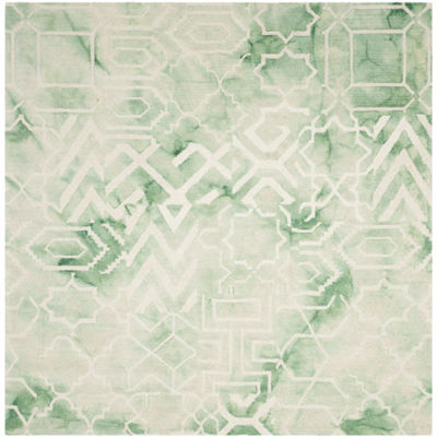 Safavieh Dip Dye Collection Venice Chevron SquareArea Rug