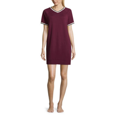 Flirtitude Short Sleeve Dress - Juniors