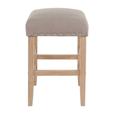 "Homepop 24"" Counter Bar Stool"