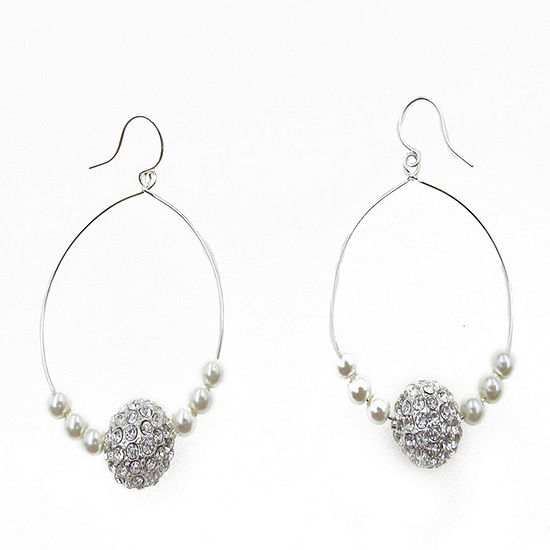 Vieste Rosa 2 Inch Hoop Earrings