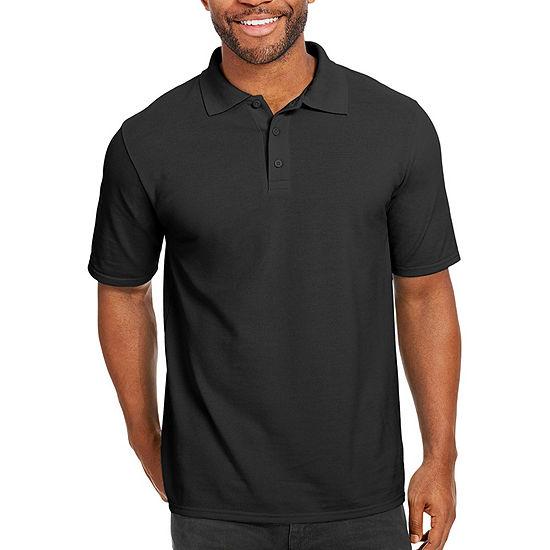 Hanes Mens X-Temp Pique Polo Shirt