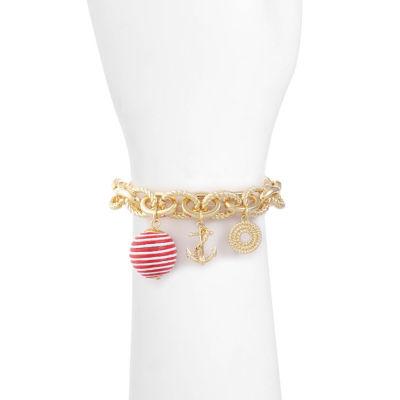 Liz Claiborne Womens Charm Bracelet