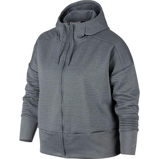 Nike-Plus Womens Long Sleeve Hoodie