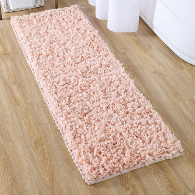 VCNY Paper Shag Bathroom Rug Runner