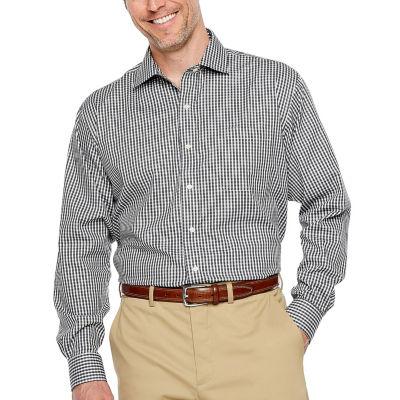 Magnaclick Long Sleeve Button-Front Shirt