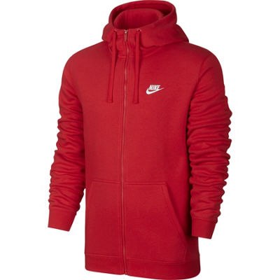 Nike Mens Long Sleeve Embroidered Hoodie-Big and Tall