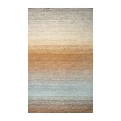 Rizzy Home Dune Collection Barney Hand-Tufted Ombre Area Rug