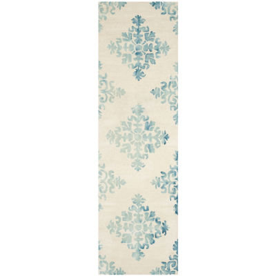 Safavieh Dip Dye Collection Durward Floral Runner Rug