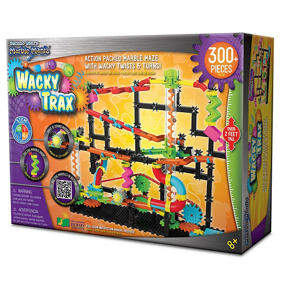 The Learning Journey Techno Gears Marble Mania Wacky Trax (300+ pcs)