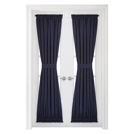 JCPenney Home Supreme Light-Filtering Rod-Pocket Single Door Panel Curtain