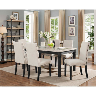 Picket House Furnishings Bradley 7PC Dining Set