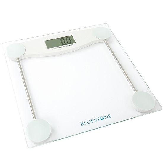 Bluestone Digital Glass Bathroom Scale with LCD Display