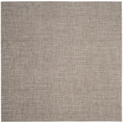 Safavieh Courtyard Collection Dallas Stripe Indoor/Outdoor Square Area Rug