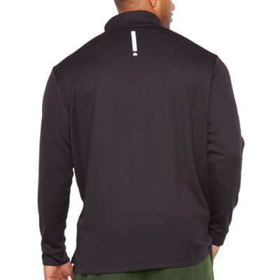 Msx By Michael Strahan Mens High Neck Long Sleeve Quarter-Zip Pullover Big and Tall