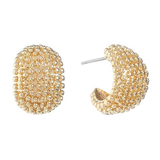 Monet Jewelry 17mm Hoop Earrings
